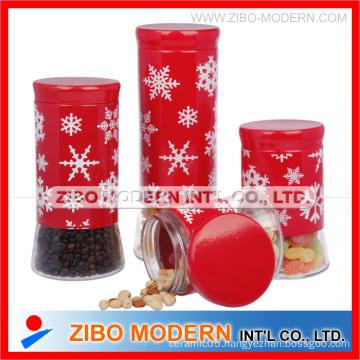 Glass Storage Jar Set