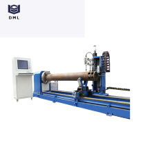 máquina de corte plasma cortador de tubos cnc