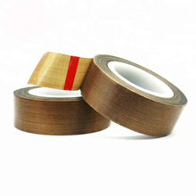 Heat sealing packing industry PTFE fiberglass adhesive tape