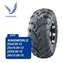 Utilitário de lado a lado 24 x 12-10 pneus