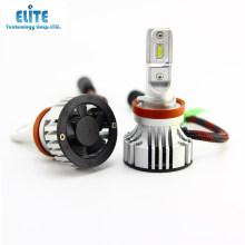 6000 lumen 6500 karat 12 v fan typ led-lampen für auto f2 h11 h11b led-scheinwerfer