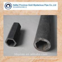 Dentro de tubo de aço sem costura hexagonal e tubo hex