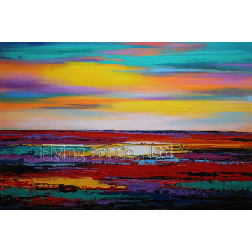 Reproduction Abstract Oil Painting Wall Art