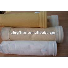 Baghouse bolsa de filtro de polvo, bolsa de filtro P84, bolsa de filtro de poliimida