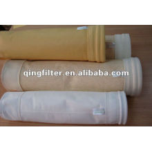 Baghouse Dust Filter bag,P84 filter bag,Polyimid filter bag