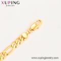 45216 Collier lourd plaqué or 24k joyeria de style simple Xuping