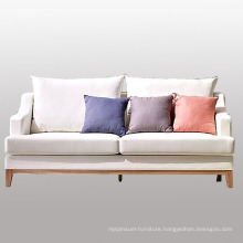 Wood Fabric Sofa for Living Room