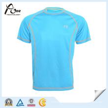 Bainha arredondada Custom Raglan camiseta homens camiseta