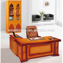 Elegante mobiliário de escritório de alto nível personalizado tamanho design de mesa de escritório