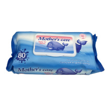 Disposable Baby Wet Towel  80 pieces Pack Hot Selling South America Wet Disposable Towel