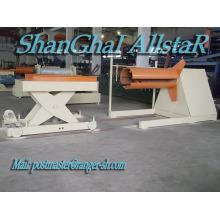 Desenrollador de bobina de acero