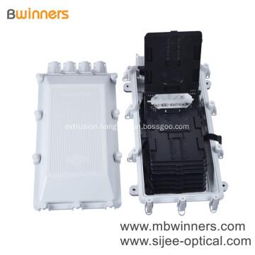 Ftth Joint Splice Closure 256Port White Color Fiber Optical Universal Access Junction Box