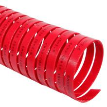 Tira de desgaste de resina fenólica roja / azul modificada