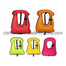 Manual Automatic Water Sports Buoyancy Aid Inflatable Life Vest Jackets