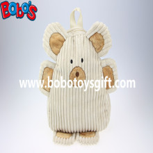 "11.8""Lovely Beige Bear Children′s Backpack Bos-1236/30cm"