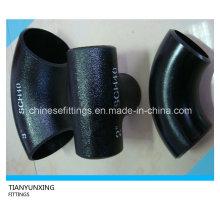 ASTM A234 Butt soudé sans soudure en acier au carbone