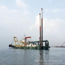 Draga de succión de arena de mar de río tipo jet 2000cbm / h para dragado