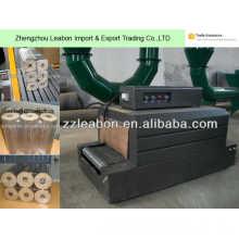 Machine à emballer d'emballage de briquette en bois de Pellicle de contrat de PE
