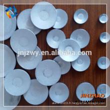 Feuille ronde en aluminium laminé à chaud en Chine avec une qualité supérieure