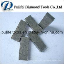 Chine Segment professionnel de diamant de Pulifei 250-800mm de diamant pour la roche de granit