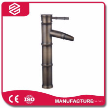 new design bamboo shape ceramic luxury basin faucet waterfall brass basin faucet