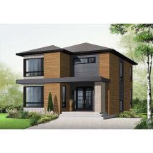 Casa de aço leve de dois andares com design moderno (CMAX 203)