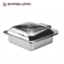Fábrica del calentador de comida del plato de frotamiento de la comida fría de C070 China