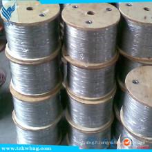 GB9787 304L fil de soudure en acier inoxydable doux et décapé
