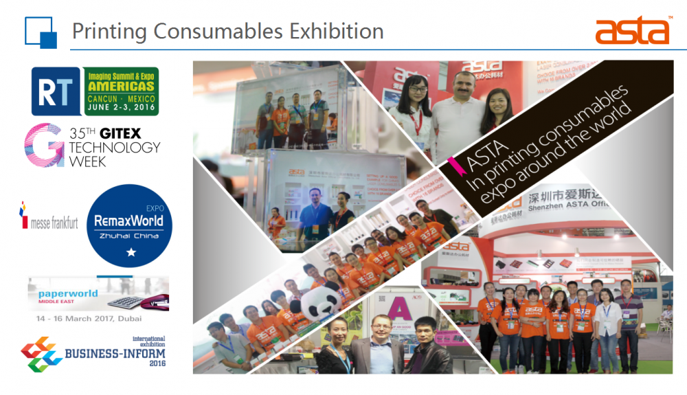 ASTA Priting Consumable Exhibition