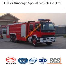 12ton Isuzu Foam Fire Tender Truck Euro3