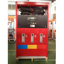 Station d'essence Zcheng Distributeur de carburant rouge Rainbow Series 6 Buse