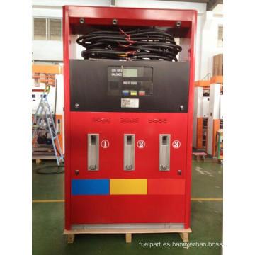 Zcheng Gasolinera Red Dispensador de combustible Rainbow Series 6 Boquilla
