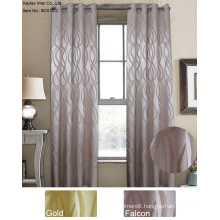 100% Polyester Jacquard Window Curtains