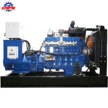 Conjunto de generador de biogás de madera de energía verde de fábrica 50kw
