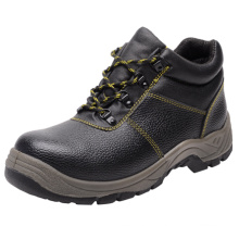 Professional Split Embossed Leather Sprots Style Safety Shoes (HQ05010-1)
