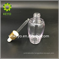 Cosmetic plastic bottles 2oz dropper container for packing