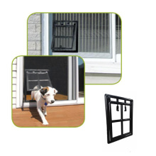 Pet Flap per porta Screen