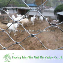 Alibaba China suministro de malla de cable de malla de cable / malla flexible de cable de acero inoxidable