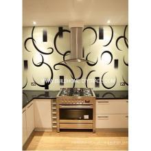 Vidro Splashback personalizado para cozinha