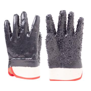Устойчивые к порезам перчатки из ПВХ с кевларовой подкладкой