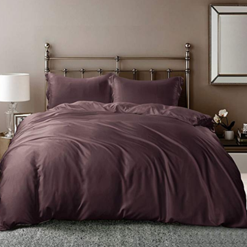 Silky Bamboo Derived Rayon Duvet Covers Covers
