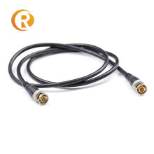 Customized BNC male cable RG174  BNC male to BNC male 0.5m length monitor application coaxial cable