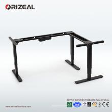 La station de travail de position d'Orizeal L se reposent se reposent, le bureau debout réglable, bureau s'élevant abordable (OZ-ODKS003)