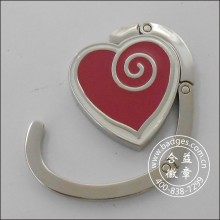 Heart Shape Bag Hanging Ring, Bag Hanger (GZHY-BHR-067)
