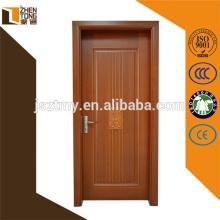 Современный дизайн подгонянные деревянные двери, один дверные конструкции