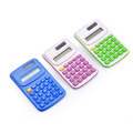 8 Digits Dual Power Mini Pocket Calculator for Students