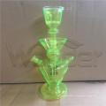 Narguilé en gros verre Narguilé avec plusieurs couleurs pour les options