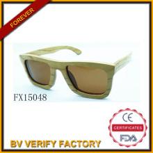 Comercial de alibaba aseguramiento 2015 Plaza madera las gafas de sol (FX15048)