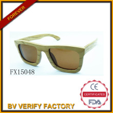 Alibaba Trade Assurance 2015 Square Wooden Sunglasses (FX15048)