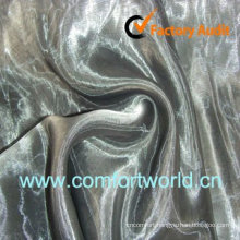 New Design Organza Curtain Fabric Made Of 100% Polyester Organza